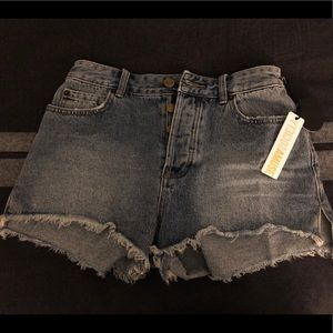 Amuse Society Denim Shorts